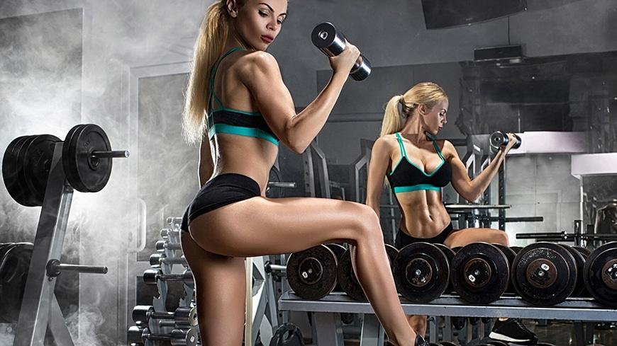 Fitness Gym Equipment Kit Set