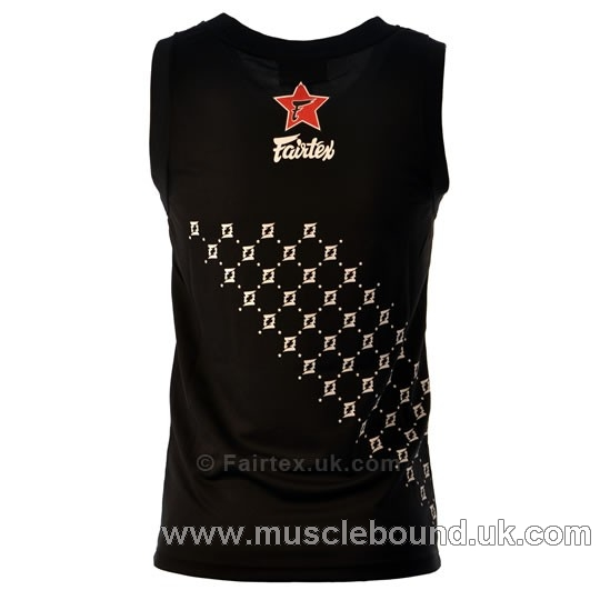 Fairtex Black Basketball Jersey