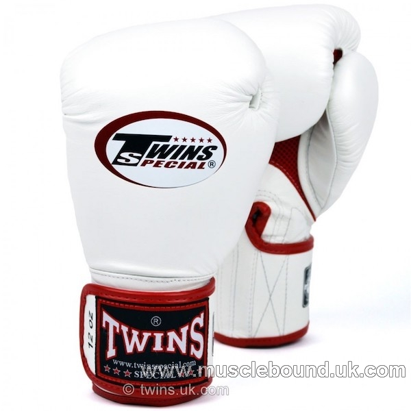 New BGVLA-1 Twins white-red Air Boxing Gloves
