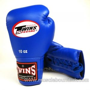 Twins Lace-Up two tone Gloves various colours