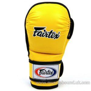 FGV15 Fairtex Yellow MMA Sparring Gloves