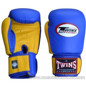 Twins Special BGVL 3 Boxing Gloves BGVL-3 Blue Yellow