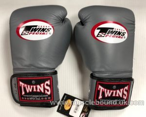 New BGVLA-1 Twins grey/ black Air Boxing Gloves