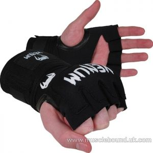 VENUM KONTACT GEL WRAP ADULT HAND WRAPS BLACK