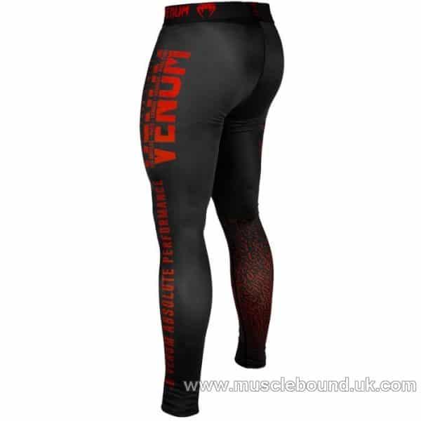Venum Signature Spats - Black/Red