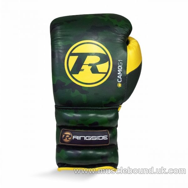 Camo G1 Ultra Pro Spar Glove Lace Metallic Green / Gold