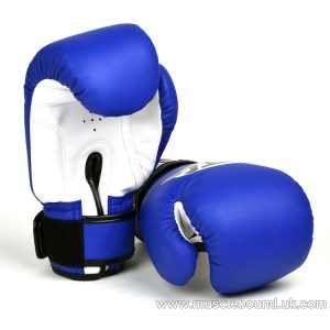 MTG kids Blue Synthetic Boxing Gloves
