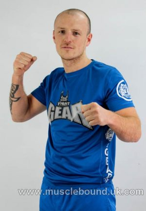 no1 fight gear t-shirt king blue