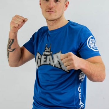 no1 fight gear t-shirt king blue