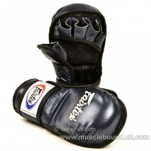 FGV15 Fairtex Blue MMA Sparring Gloves