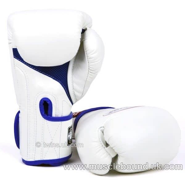 New BGVLA-1 Twins white-blue Air Boxing Gloves