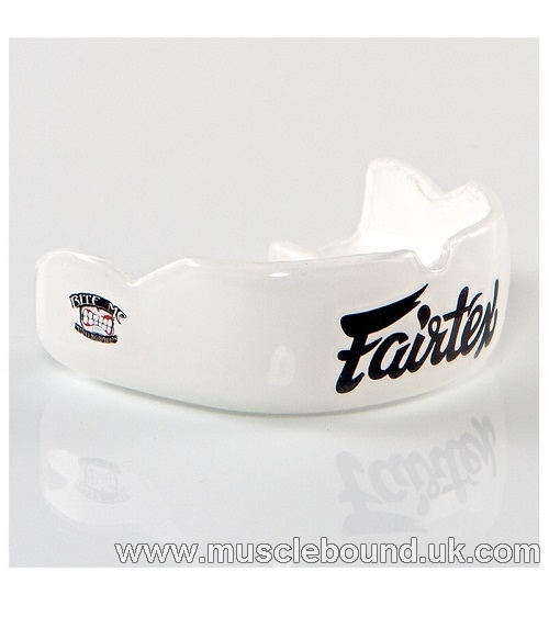 coming soon CUSTOM BOIL AND BITE MOUTHPIECE - WHITE