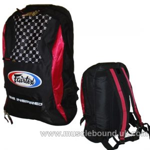 Fairtex Blue/Black Rucksack Gym Bag