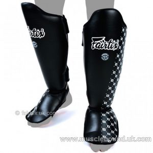Fairtex Blue Competition Shin Pads