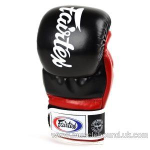 FGV18 Fairtex Black-Red Super Sparring MMA Gloves