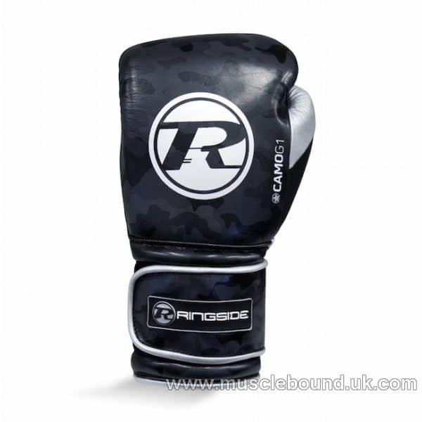 Camo G1 Ultra Pro Spar Glove Strap Metallic Black / Silver