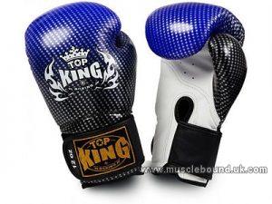 kids Top King Super Stars Boxing Gloves blue