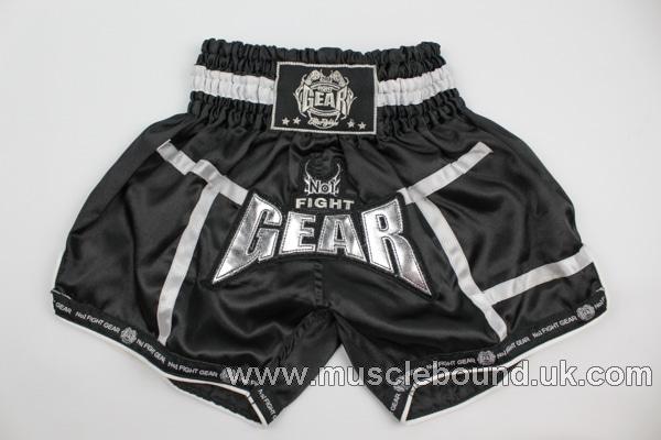 new arrival black/ white satin lines kids shorts