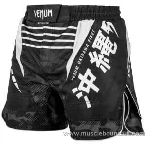 Venum Okinawa 2.0 Fightshorts - Black/White