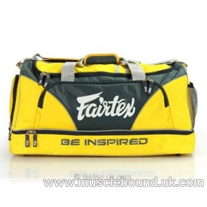 BAG2 Fairtex Yellow Heavy Duty Gym Bag