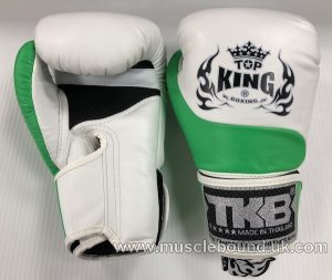 new kids topking gloves 2 x toned green/white