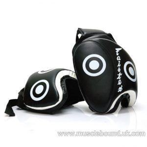 TP3 Fairtex Black Deluxe Thigh Pads