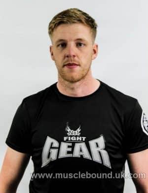 no1 fight gear t-shirt black