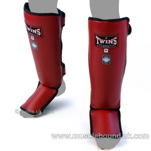 SGL-3 Twins Slim Padded Shin Pads (various colours)
