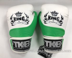 new topking adults gloves green/white