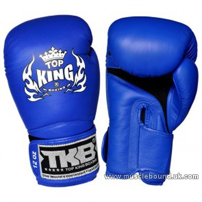 kids topking air gloves blue