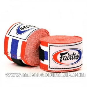 HW2 Fairtex Thai Flag 4.5m Stretch Wraps