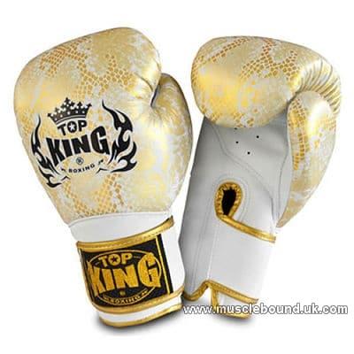 kids Top King white gold Snake gloves