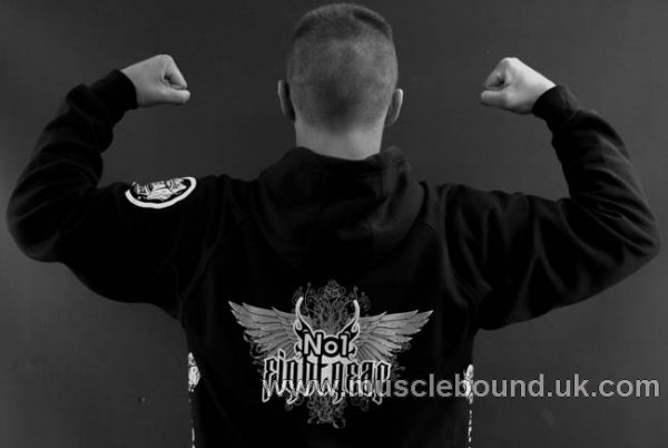 no 1 fight gear pullover hoodie in black 2
