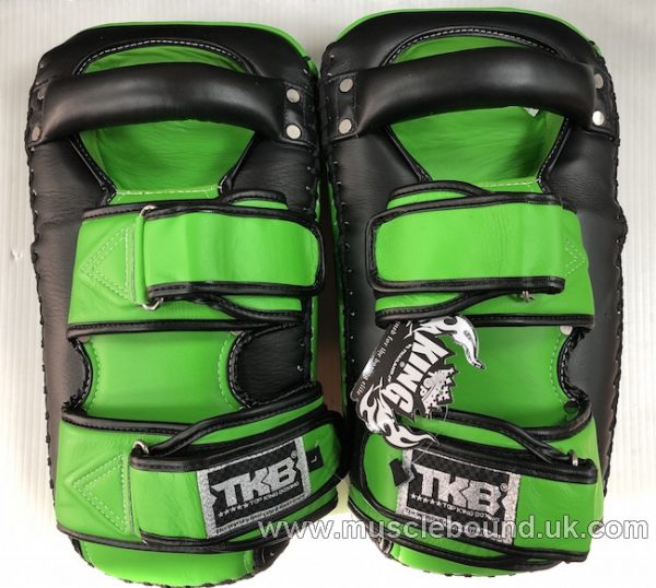 new arrival 2019 topking thai pads black/ green sides