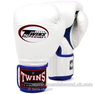 New BGVLA-1 Twins white-blue Air Boxing Gloves