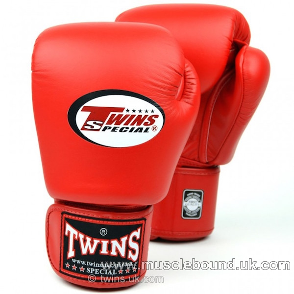 kidsTwins Red Velcro Boxing Gloves