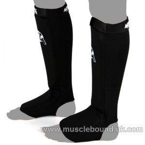 MTG-SF2 MTG Pro Black Elastic Shin Pads