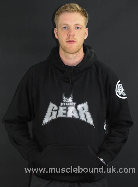 no1 fight gear pullover hoodies black