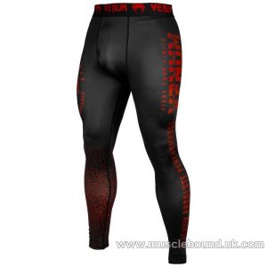Venum Signature Spats - Black/Red