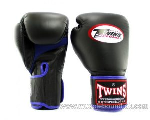 New BGVLA-1 Twins black/blue Air Boxing Gloves