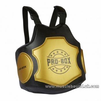 HI-IMPACT BODY PROTECTOR BLACK GOLD PRO BOX