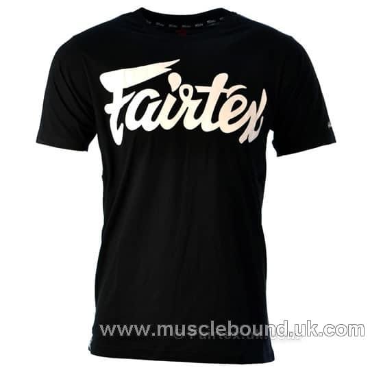 Fairtex Black Classic Script T-Shirt
