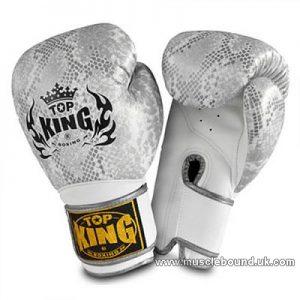 kids Top King white Snake gloves