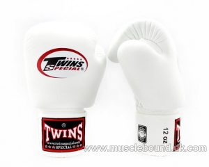 Twins White Boxing Gloves