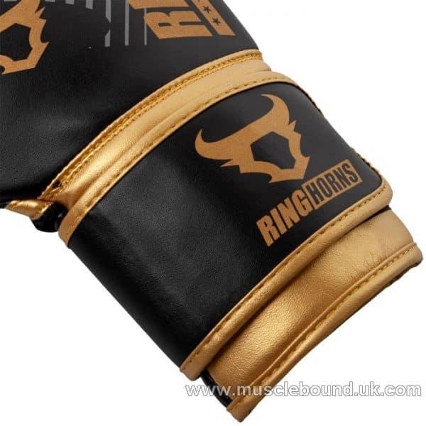 RINGHORNS CHARGER MX BOXING GLOVES - BLACK/GOLD