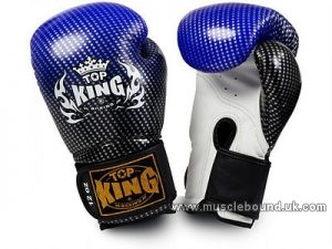 Top King Super Stars Boxing Gloves blue