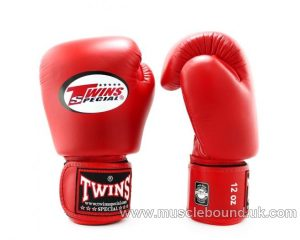 Twins Red Boxing Gloves