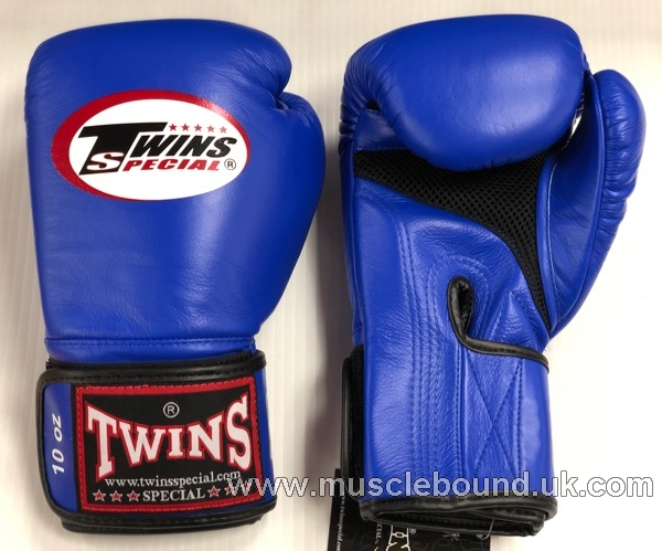 New BGVLA-1 Twins blue/ black Air Boxing Gloves
