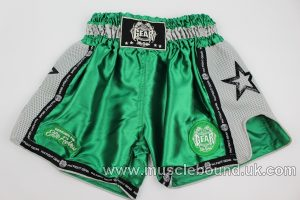 new arrival green/ grey mesh kids shorts