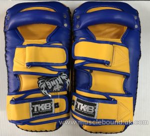 new arrival 2019 topking thai pads blue/ yellow sides